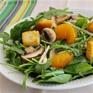 Asian-Inspired Spinach Salad