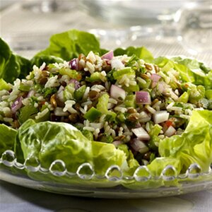 Lentil Rice Salad