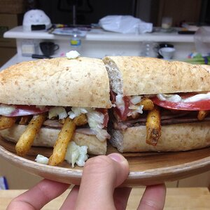 Pittsburgh Style Sandwich