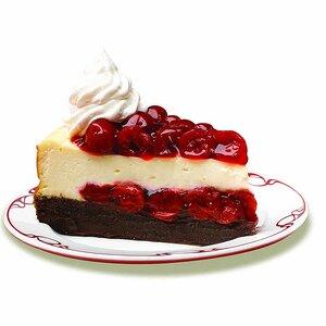 Cherry Chocolate Brownie Cheesecake