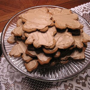 Frosted Maple Cookies
