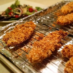 Maple-Pecan-Crusted Chicken