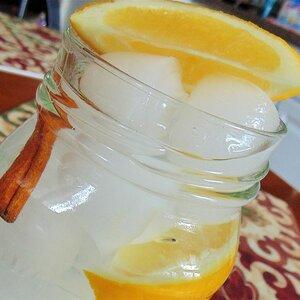 Lemon, Ginger, and Cinnamon Flavored Water