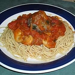 Bison Meatballs and Spaghetti