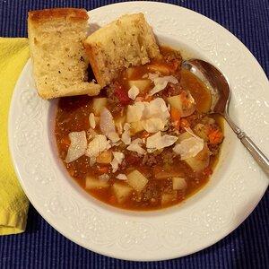 Spicy Potato Soup II