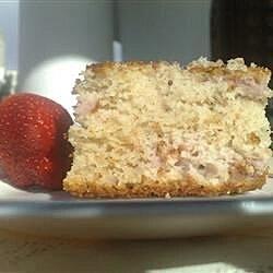 Easy Strawberry Yogurt Cake