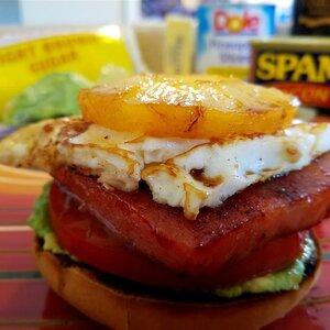 The Ultimate Open-faced Breakfast SPAM®WICH Sandwich