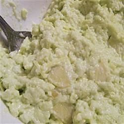 Holiday Green Gelatin Salad