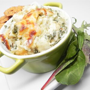 The Perfect Hot Artichoke and Spinach Dip