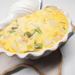 Easy Creamy Crab and Asparagus Soup
