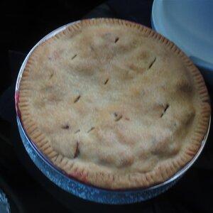 Rhubarb Pie III