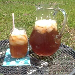 Cool Rhubarb Iced Tea