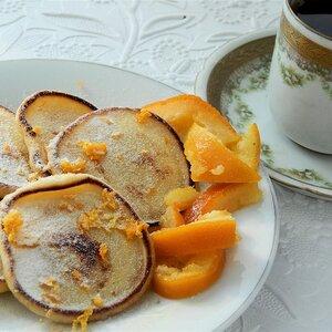 Orange Pikelets