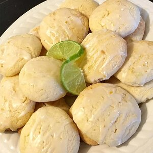Lemon-Lime Cookies with Lactaid® Cottage Cheese