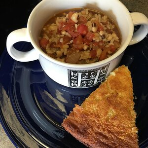 Slow Cooker Hoppin' John Chowder