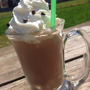 Blended Frozen Hot Chocolate