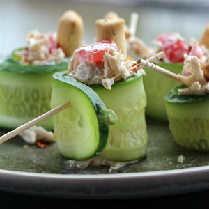 Cucumber Chicken Roll-ups