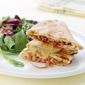 Turkey & Balsamic Onion Quesadillas