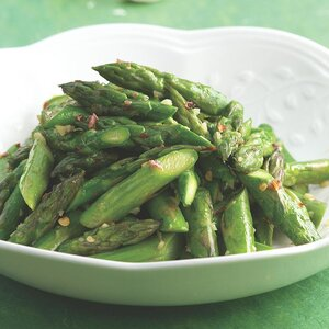 Asparagus with Anchovies & Garlic
