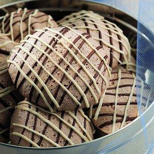 Chocolate Coconut Meringues
