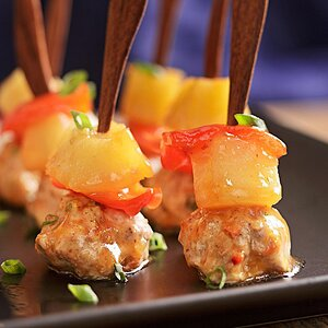 Sweet-&-Sour Meatballs