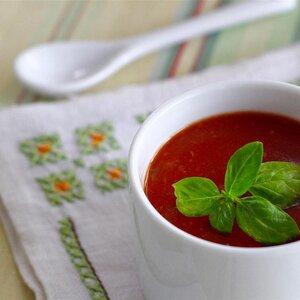 Parmesan Basil Tomato Soup