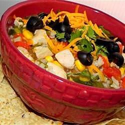 Tortilla Chicken Vegetable Soup