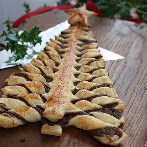 Nutella® Pastry Christmas Tree