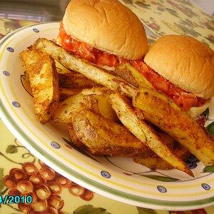 Cajun Spicy Potato Wedges