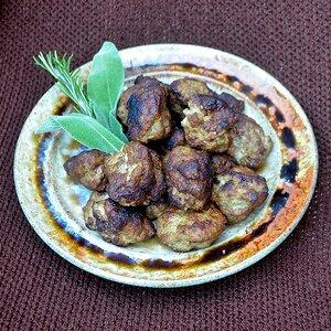 Paleo Sausage Meatballs
