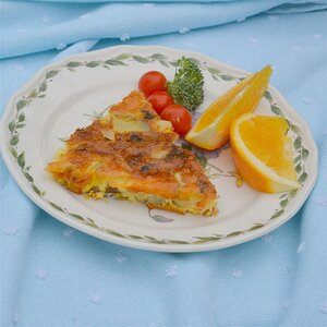 Corned Beef Hash Crustless Quiche