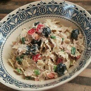 Dill Veggie Tuna Salad