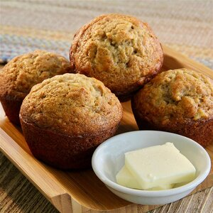 Ultimate Banana Muffins
