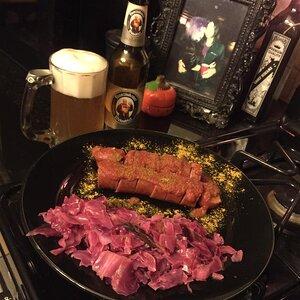 German Currywurst