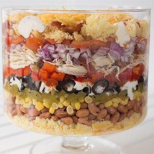 Southwest Chicken and Corn Bread Salad