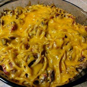 Cheeseburger Noodle Casserole