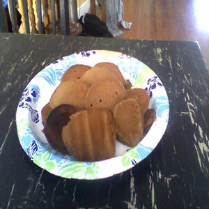 Keaton's Mini Chocolate Pancakes