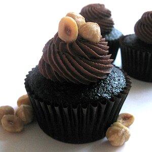 Hazelnut Truffle Cupcakes