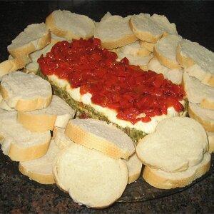 Pesto Torta (Layered Spread)