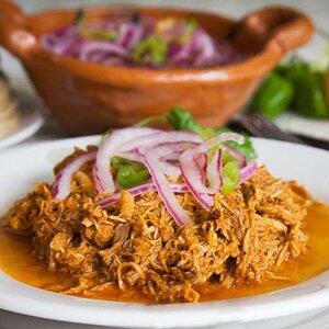 Cochinita Pibil (Mexican Pulled Pork in Annatto Sauce)