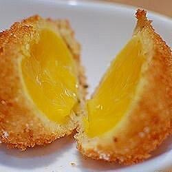 Deep-Fried Sous Vide Egg Yolks