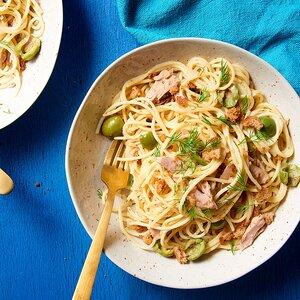 One-Pot Pasta with Tuna