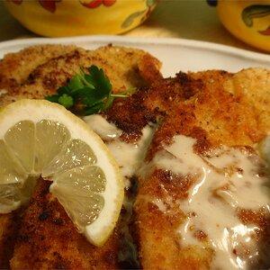 Veal Scaloppini with Lemon Cream Sauce