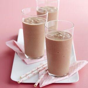 Silky Chocolate Milkshakes