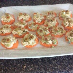 Carrot and Tuna Bites