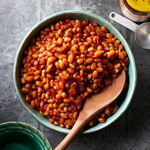 Pressure-Cooker Baked Beans