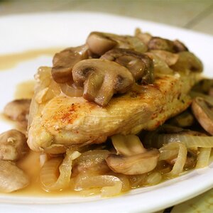 Paprika Chicken with Mushrooms