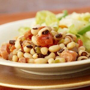 Black-Eyed Peas and Ham
