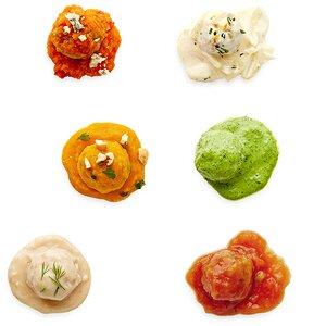 Turkey-Pork Mini Meatballs