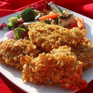 Crunchy Chicken Fingers